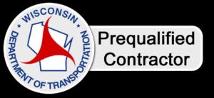 Wisconsin DOT Prequalified Contractor